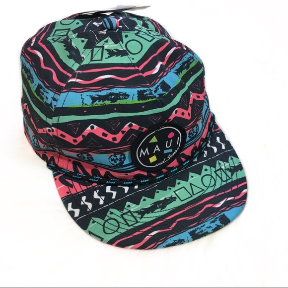 Maui Gnarly Graphic hat. M 5a69f600a6e3ea09380840a3 d232fdccb8f